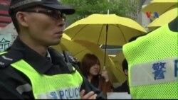 Thủ lĩnh phong trào Chiếm Trung ở Hong Kong đầu thú cảnh sát
