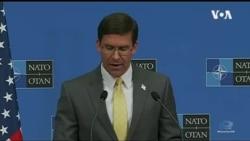 美国国防部长埃斯珀对北约组织逐渐重视中国的长远威胁感到欣慰