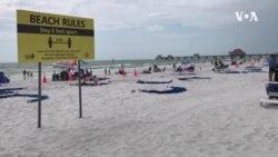 佛羅里達州新冠破紀錄 口罩爭議仍未休