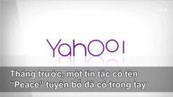 Thông tin cá nhân của trăm triệu người dùng Yahoo gặp nguy