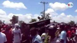 Ayiti: Plizyè Milye Patizan Opozisyon an Manifeste nan Okay pou Mande Demisyon Prezidan Jovenel Moïse