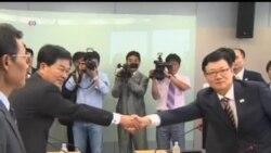 2013-07-10 美國之音視頻新聞: 南北韓就重開工業園區談判未有結果