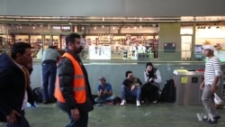 Vienna Train Station a Hub for Refugees