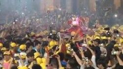 سفر زیارتی هزاران تایوانی برای بزرگداشت الهه حافظ دریانوردان