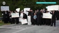 Около двух тысяч евреев-хасидов застряли на белорусско-украинской границе