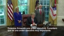 Inmigración: Trump firma orden ejecutiva para mantener familias unidas