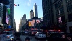 Peledakan Bom di Terminal Bus Sibuk di New York