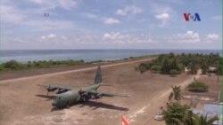 Mỹ kêu gọi ngưng cải tạo đất ở Biển Đông