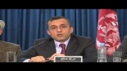 امرالله صالح رئیس کمیسیون حقیقت یاب در مورد سقوط کندز