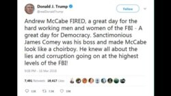 FBI Mccabe Fired
