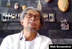 Antropolog dari Fakultas Ilmu Budaya (FIB), UGM, Hery Santoso. (Foto: screenshot)