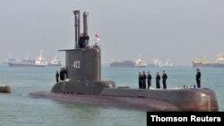 지난 2012년 2월 인도네시아 수라바야에 입항한 해군 KRI 낭갈라 402 잠수함
