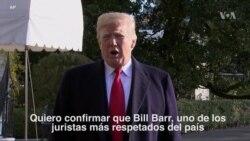 """Trump de su nominado a Fiscal General: """"Es un hombre excelente"""""""