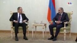 Ռուսաստանի պատվիրակությունը հանդիպումներ է ունեցել Հայաստանի վարչապետի և Ադրբեջանի նախագահի հետ: