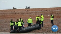 Asylum Seekers in Boats Test Britain's Southern Coast