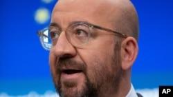 歐洲理事會主席查爾斯·米歇爾(Charles Michel)。