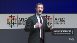 Zuckerberg Pushes Internet Connectivity In Address to World Leaders at APEC