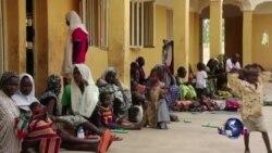 获救尼日利亚妇女儿童开始恢复正常生活