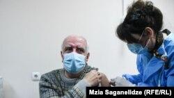 В Грузии продолжается вакцинация населения. 15 марта 2021