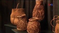 Nghệ thuật đan giỏ tại Triển lãm Thủ công Smithsonian