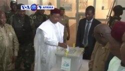 VOA60 Afrika :Rais wa Niger Mahamadou Issafou apiga kura kwenye duru ya pili ya uchaguzi Niger huku upinzani ukiitisha kugomewa kwa uchaguzi
