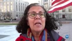 Diáspora iraniana nos EUA protesta contra Irão