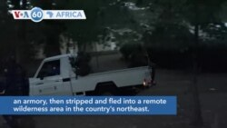 VOA60 Afrikaa - Ugandan forces are searching for around 200 naked inmates who escaped from prison