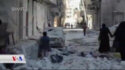 گەیشتنی یارمەتیـیە مرۆیـیەکان بۆ چەند شوێنێـکی سوریا