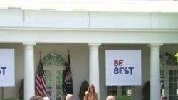 Мелания Трамп начала кампанию Be Best