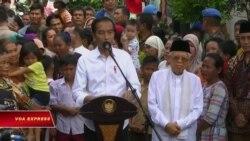 Tổng thống Indonesia được tuyên bố tái đắc cử