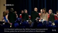 President Obama Addresses the White House Correspondents' Dinner