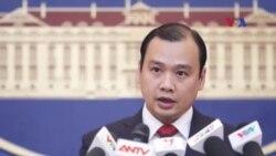 Việt Nam phản đối Trung Quốc xây dựng ở Hoàng Sa