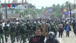 Reports of Rasicm by Indonesian Police Spark Riots in West Papua