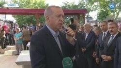 Erdoğan İstanbul'da Mursi Adına Kılınan Gıyabi Cenaze Namazına Katıldı
