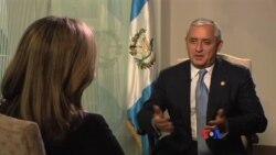 """Pérez Molina: """"Guatemala está haciendo su mejor esfuerzo"""""""