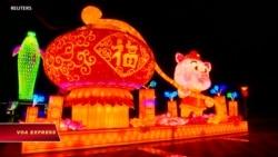 Trung Quốc rực rỡ đèn lồng đón Tết Nguyên đán