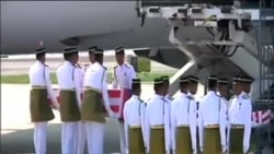 馬航客機遇難者首批遺體運抵吉隆坡