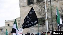 شام میں القاعدہ سے منسلک گروپ بھی سرگرم ہے۔