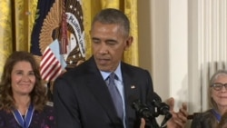 Obama: Medal of Freedom Winners Are 'America'