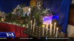 Tiranë, besimtarët e krishterë festojnë Krishtlindjen