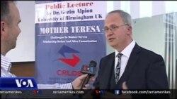 Leksion mbi shenjtërimin e Nënë Terezës