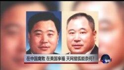 时事大家谈:在中国腐败,在美国享福,天网猎狐能奈何?