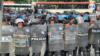 La policía de Nicaragua detuvo a decenas de manifestantes durantes las protestas contra el gobierno de Daniel Ortega en 2018. [Archivo/VOA]
