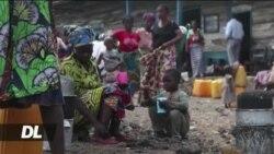 Tshisekedi awatembelea walioathiriwa na volcano Goma