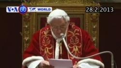 Các vị hồng y từ biệt lần chót Đức Giáo Hoàng (VOA60)