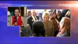 Клінтон веде себе так ніби вона вже перемогла Сандерса - включення з виборів у США. Відео