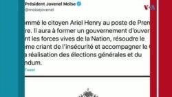 Ayiti: Prezidan Jovenel Moise nonmen Doktè Ariel Henri kòm Premye Minis.
