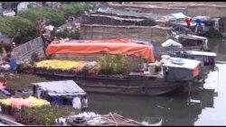Chợ nổi hoa kiểng ở Sài Gòn