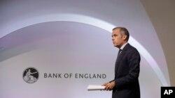 Mark Carney, Gouverneur de la Banque du Royaume-Uni