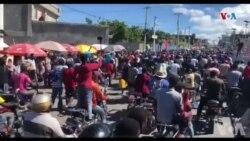 Polisye Group Phantom 509 la Menase pou Bloke Peyi a si Otorite yo pa mete 25 mil Goud sou kat Debi yo